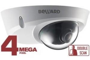 Рекомендуем! 4 Мп антивандальная mini IP-камера BEWARD BD4640DS